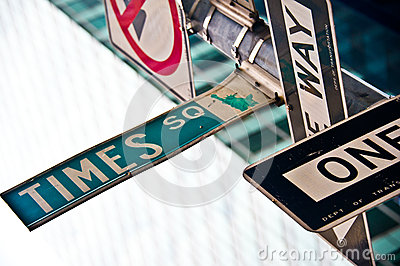 Times square Editorial Stock Image