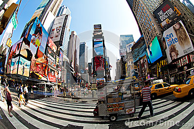 Times square Editorial Photography