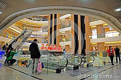 Times square, hong kong Editorial Stock Photo
