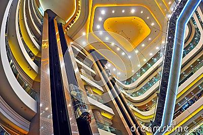 Times square interior , hong kong