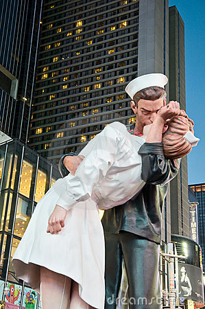 Times Square Kiss-in August 14 2010 Editorial Image
