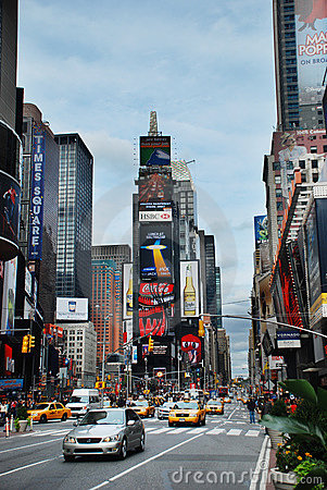 Times Square, Manhattan, New York City Editorial Photography