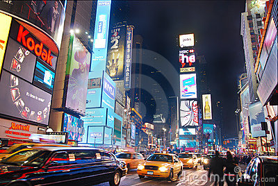 Times Square, Manhattan, New York City Editorial Stock Photo
