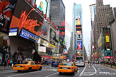 Times Square New York Editorial Image