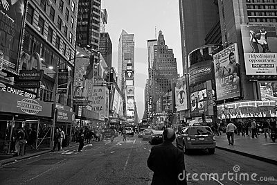 Times Square, New York Editorial Stock Photo