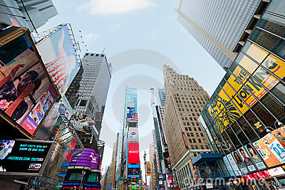 Times Square in New York Editorial Image