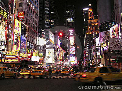 Times Square of New York Editorial Stock Photo