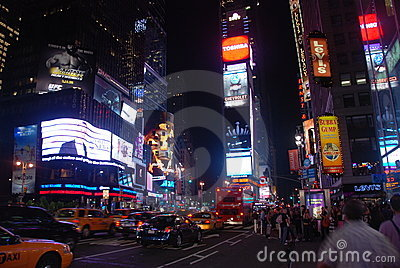 Times square - New York city Editorial Stock Image