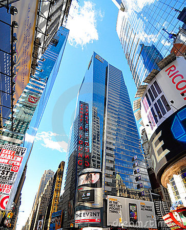 Times square new york city Editorial Stock Image