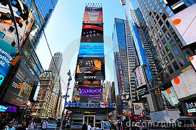 Times square new york city Editorial Photo