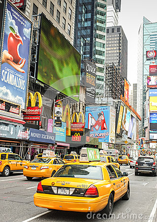 Times Square, New York City Editorial Stock Image