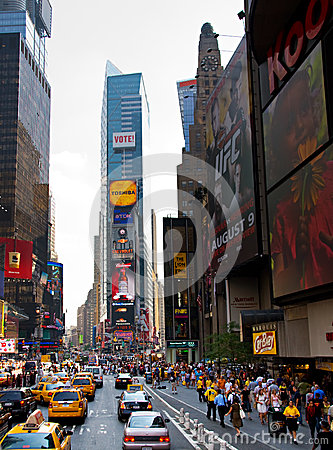 Times Square, New York City Editorial Image