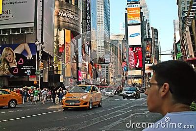 Times Square, New York City. USA Editorial Image