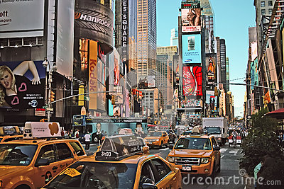 Times Square, New York City. USA Editorial Photography