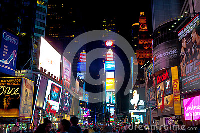 Times Square New York, USA Editorial Photo