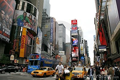 Times Square, NYC Editorial Stock Image