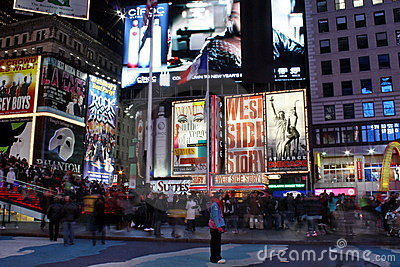 Times Square in NYC Editorial Photography