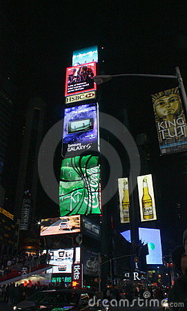Times Square in NYC Editorial Photo