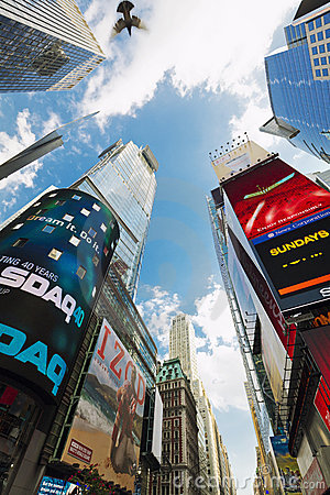 Free Times Square,NYC Royalty Free Stock Photography - 21433247