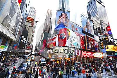 Times Square NYC Editorial Photography