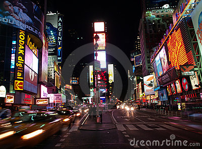The Times Square in NYC Editorial Photography