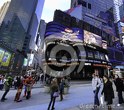 Free Times Square Studios (TSS) Royalty Free Stock Photo - 29567345