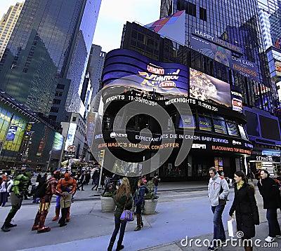 Times Square Studios (TSS) Editorial Image