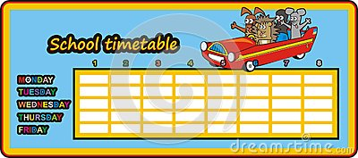 Timetable - car in the car