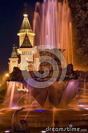 Free Timisoara Nightscape Stock Photo - 10820350