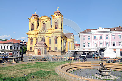 Timisoara small cathedral
