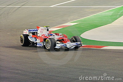 Timo Glock S Toyota Car In 2008 F1 Editorial Stock Photo