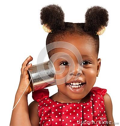 Tin can phone concept