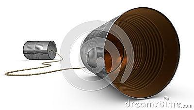Tin Can Telephones