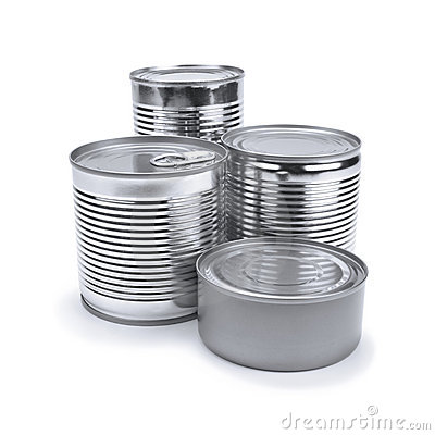 Free Tin Cans Stock Photography - 20677492