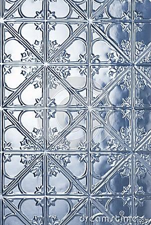 Tin Metal Christmas Background