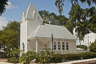 Tin roofed historical church, Florida