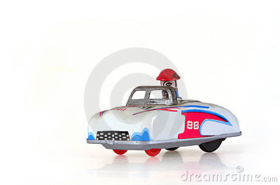 Tin Toy Racing Car