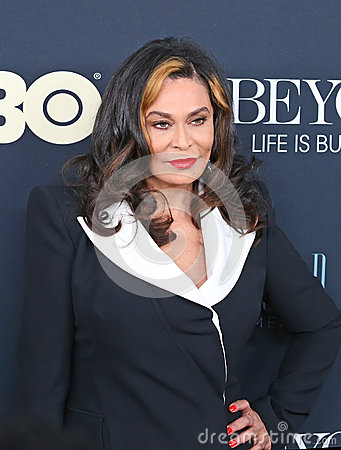 Tina Knowles Editorial Photography