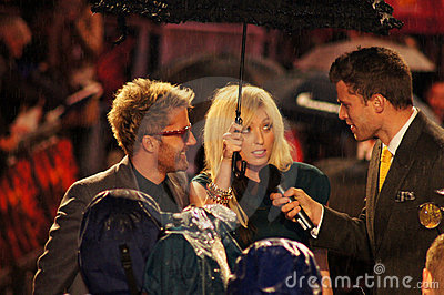 The Ting Tings At The Red Premiere Editorial Photography