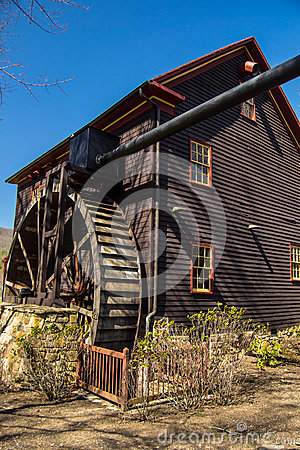 Tingler s Mill, Paint Bank, Virginia Editorial Stock Image