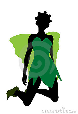 Tinker Bell Silhouette Illustration