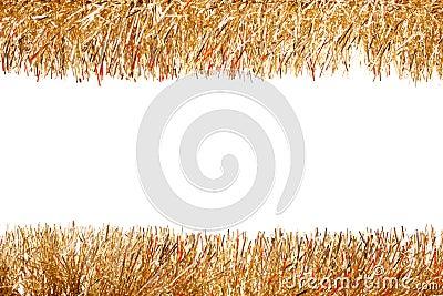 Tinsel garland