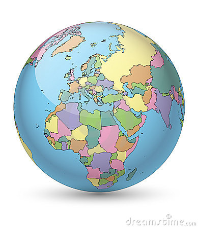 Tinted Globe