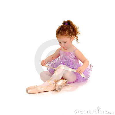 Free Tiny Ballet Dancer Royalty Free Stock Photos - 18803788