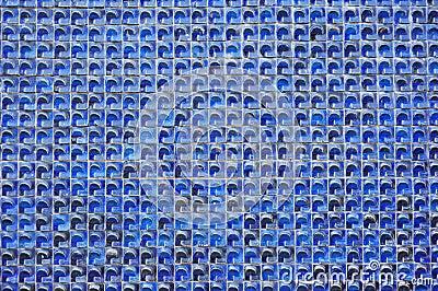 Tiny Blue Tiles