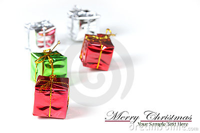 Tiny christmas gifts