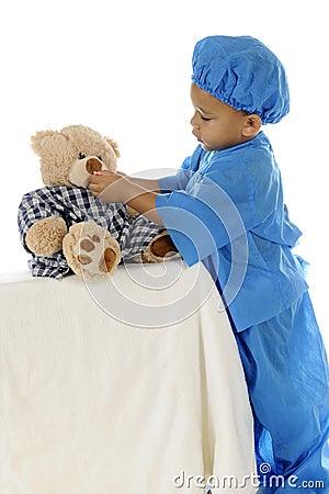Tiny Doc Giving Meds