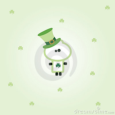 Tiny dude st. patrick