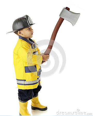 Tiny Fireman s Hatchet