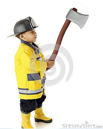 Tiny Fireman s Hatchet
